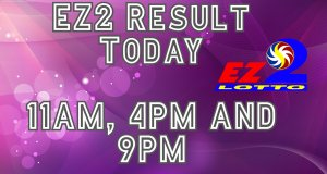 PCSO EZ2 Results Today July 13, 2020 11AM 4PM 9PM