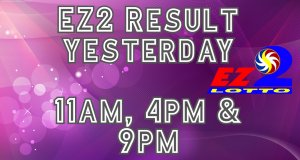 PCSO EZ2 Results Yesterday July 26, 2020 11AM 4PM 9PM