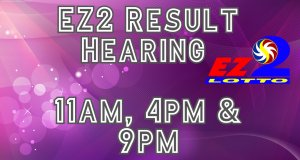 PCSO EZ2 Result Today Hearing Aug 24, 2020