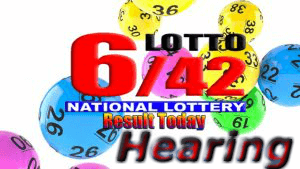 6/42 Lotto Hearing Today