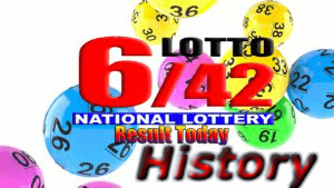 6/42 LOTTO Result History