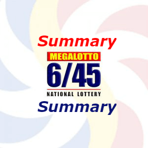 6/45 Result Summary, Today Sep 21, Yesterday, History & Hearing