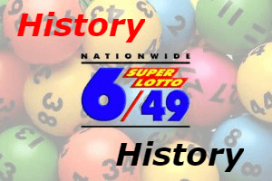 6/49 Lotto Result History