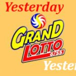 6/55 Grand Lotto Results Yesterday September 26, 2020
