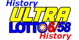 6/58 Lotto Result History