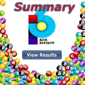 6D Result Summary, Today Sep 17, Yesterday, History & Hearing