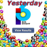 6D Results Yesterday